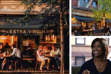 """Disfruta de la más deliciosa y saludable comida en """"Extra Virgin"""" ubicado en West Village."""