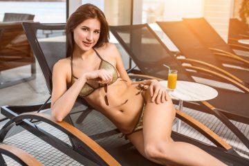 Lorena te espera para nadar (Dreamstime)