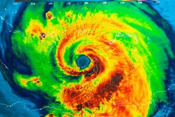 El huracán tocó tierra en Padre Island, una barrera de islas entre las ciudades de Corpus Cristi y Brownsville, esta última vecina de Matamoros (México). (Dreamstime)