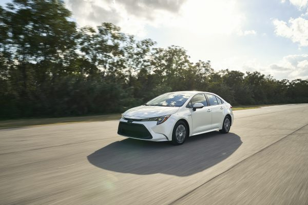 Toyota Corolla Híbridodel 2021.