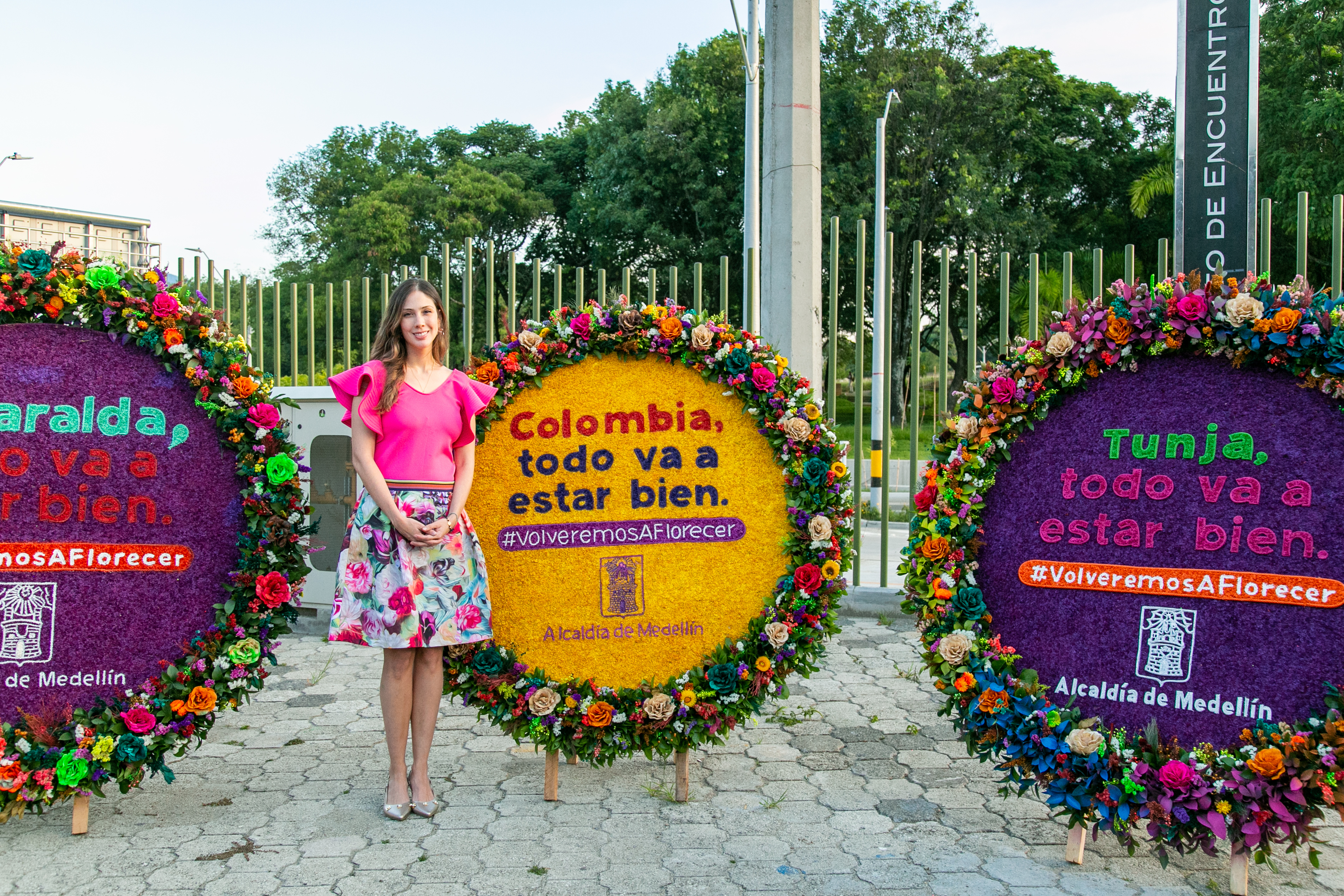 Silleta-Risaralda #VolveremosAFlorecer, la iniciativa que lleva el arte de las silletas al personal médico de Colombia