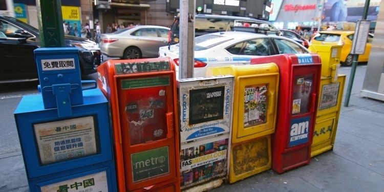 Los trabajadores del periódico tienen hasta el 30 de octubre para recoger cualquier objeto personal que hayan podido dejar en las oficinas.  (Dreamstime)