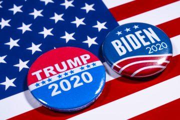 """Trump llegó incluso a insultar al candidato presidencial demócrata, al afirmar: """"Biden es una persona estúpida, ustedes lo saben"""". (Dreamstime)"""