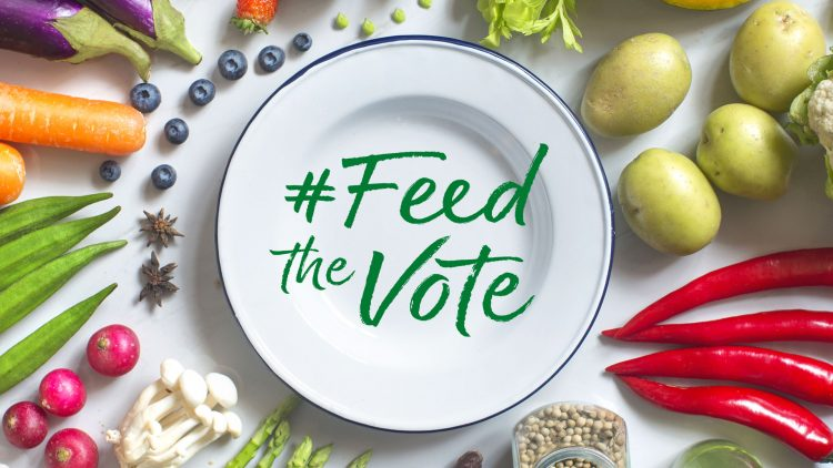 #FeedTheVote