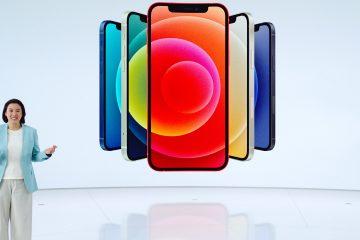 El teléfono usa un procesador A14 Bionic y la pantalla de LEDs orgánicos (OLED) es compatible con Dolby Vision, HDR 10 y HLG. (Dreamstime)