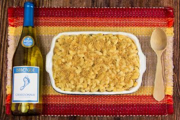 Barefoot Cauliflower Mac and Cheese.
