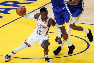 El jugador de Oklahoma City durante un juego de la NBA EFE/EPA/JOHN G.
