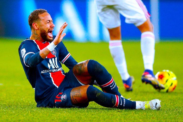 El atacante brasileño del París Saint-Germain Neymar. EFE