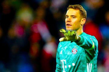 El alemán Manuel Neuer, jugador del Bayern Múnich. EFE