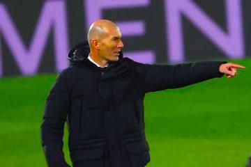 El entrenador del Real Madrid, el francés Zinedine Zidane. EFE