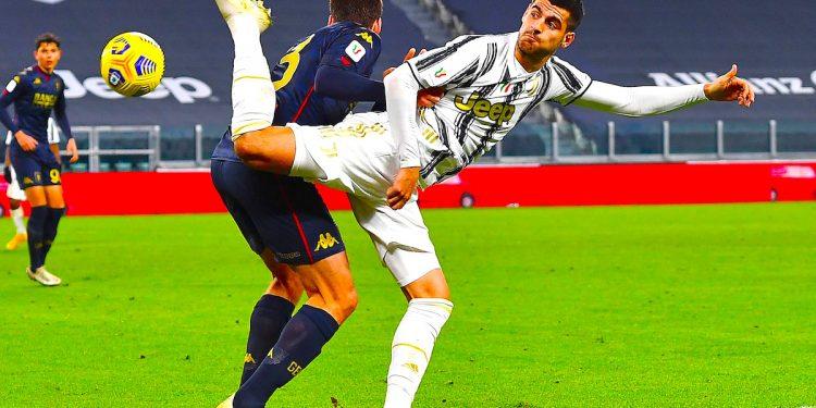 l español Álvaro Morata, delantero del Juventus Turín. EFE