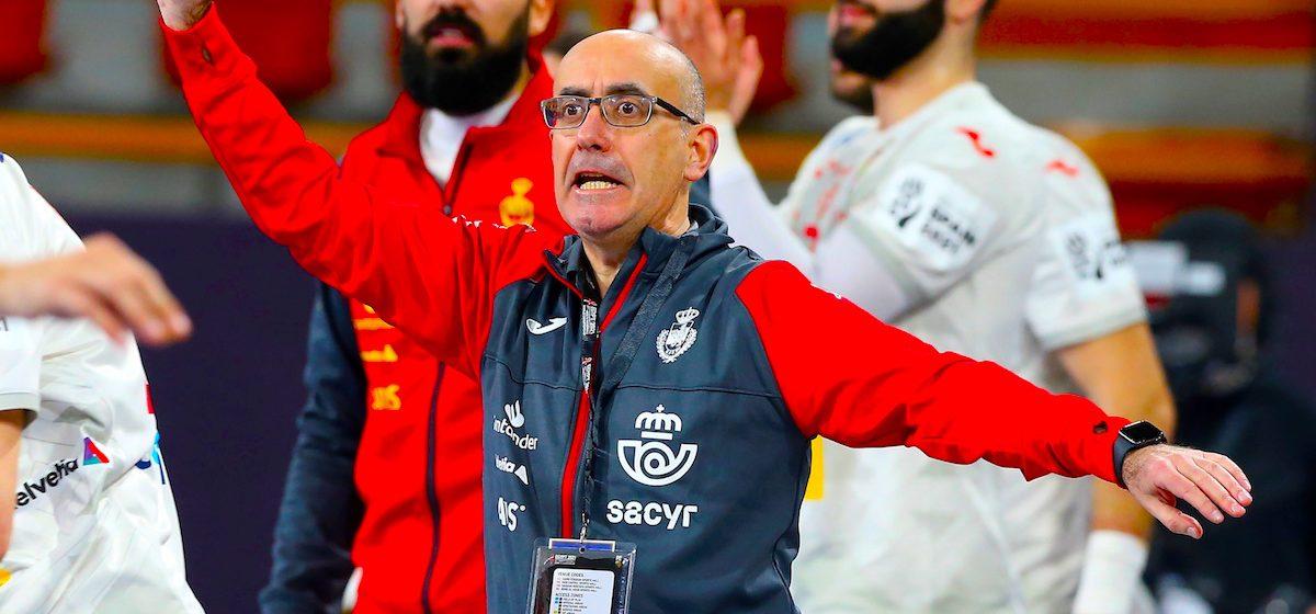 El seleccionador español de balonmano, Jordi Ribera. EFE