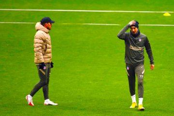 El entrenador del Atlético de Madrid, el argentino Diego Pablo Simeone. EFE/ Juan Carlos Hidalgo