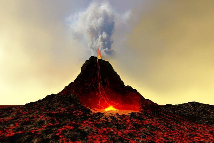 Los científicos señalan que los datos acerca de esas nubes son tan importantes como los basados en el estudio de los depósitos de tefra, las partículas de roca arrojadas al aire por el volcán. (Dreamstime)