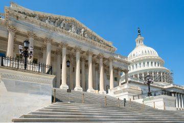 """Los demócratas, con mayoría en la Cámara Baja, buscarán este miércoles acusar al mandatario del cargo de """"incitación a la insurrección"""". (Dreamstime)"""
