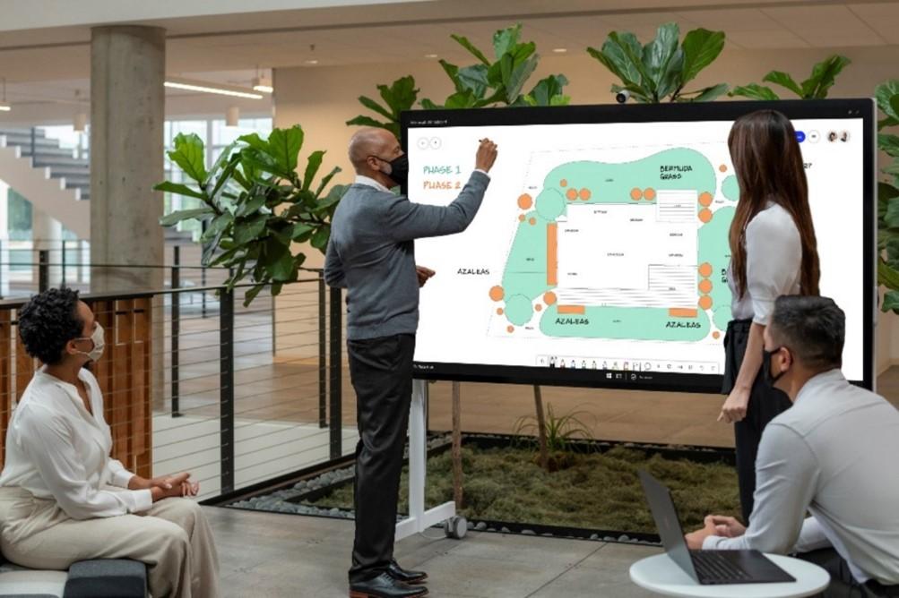 image002 Microsoft Surface anunció el nuevo Surface Pro 7 + para empresas