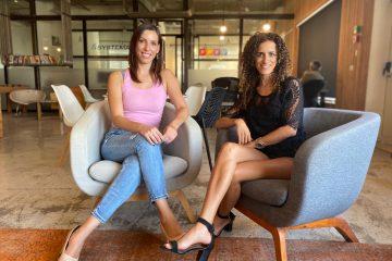Emprendedoras Israelís Gitit Lahav y Shimrit Lev.