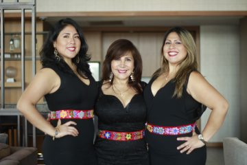 Alicia, Magaly y Vanessa, las creadoras de Qoyas NYC Peruvian Cuisine.