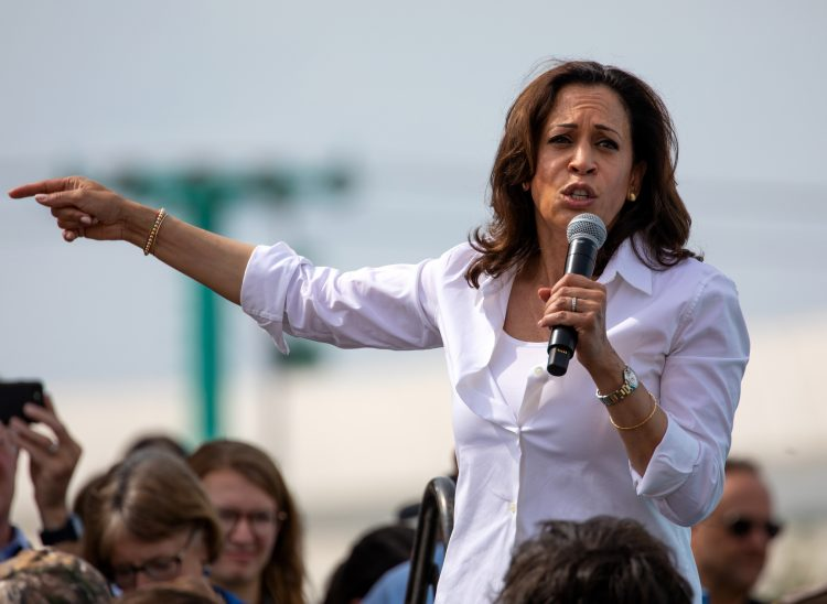 """Harris subrayó que Estados Unidos tiene """"una larga historia de racismo sistémico"""", que está """"evitando"""" que el país """"cumpla su promesa de libertad y justicia para todos"""". (Dreamstime)"""