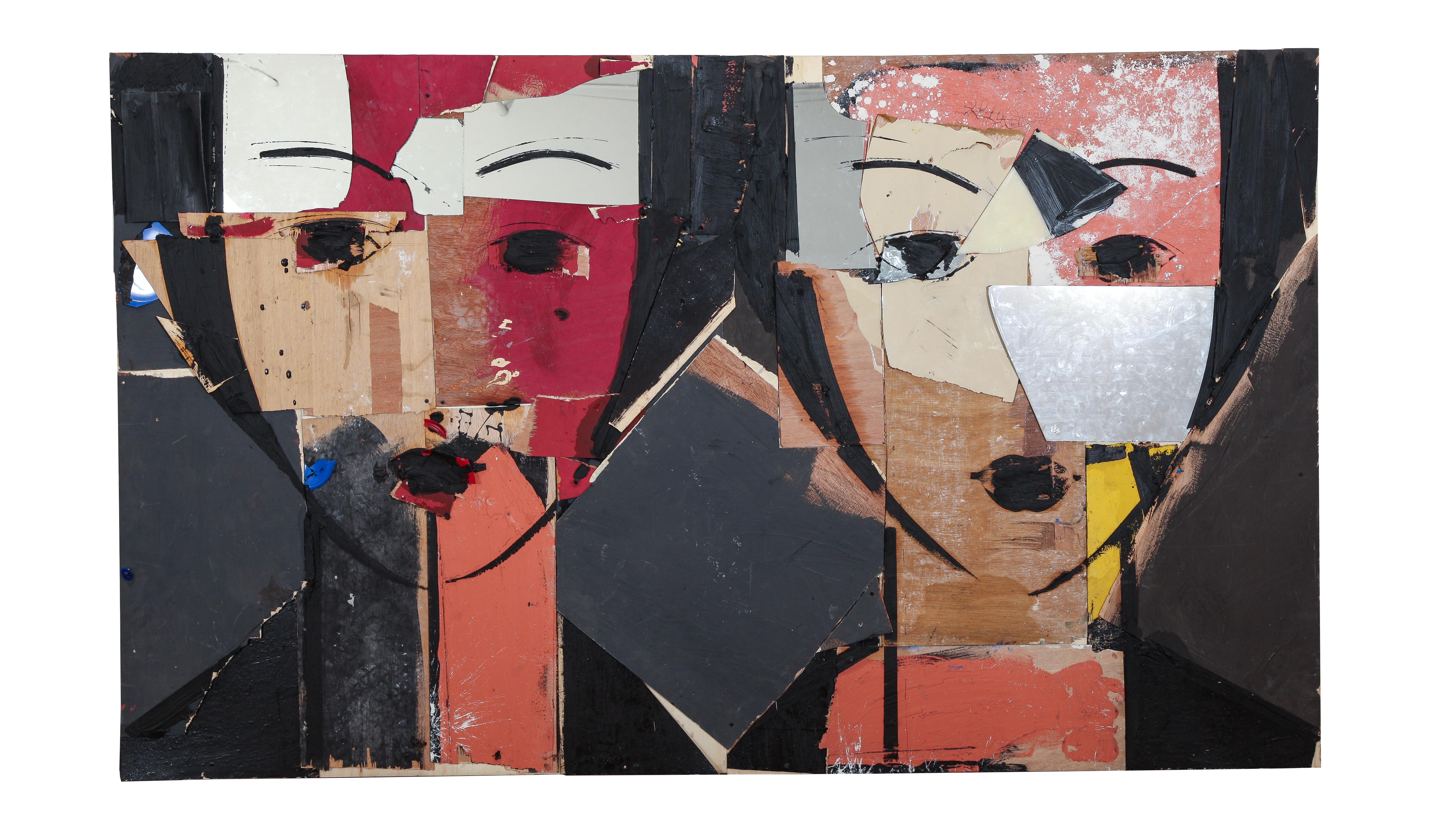 Retrato-con-Fondo-Verde-2020 Opera Gallery presenta a Manolo Valdés