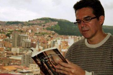Edmundo Paz-Soldán, escritor boliviano radicado en Ithaca, NY.