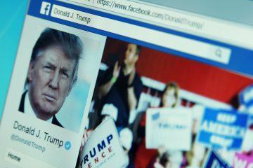 Las cuentas de Trump en Facebook e Instagram (propiedad de la compañía). (Dreamstime)