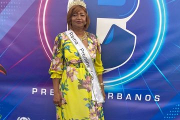 """Ana María Valera """"Josefina"""" durante la ceremonia de los Premios Urbanos."""