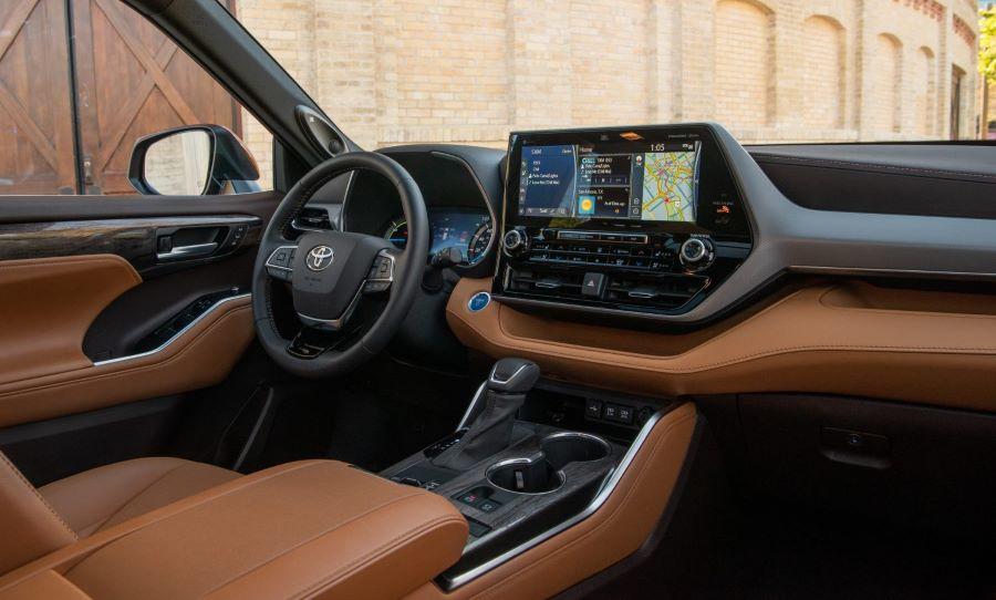2021_Toyota_Highlander_-2 Toyota Highlander Hibrido del 202, Un Crossover económico y familiar