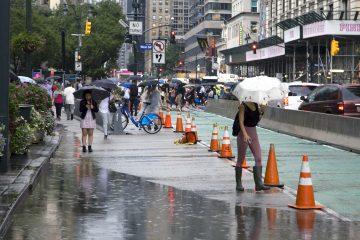 Nueva York declaró en las primeras horas de este jueves el estado de emergencia después de que la región noreste del país registrara intensas lluvias y vientos de los restos de Ida, que causaron importantes inundaciones. (Dreamstime)