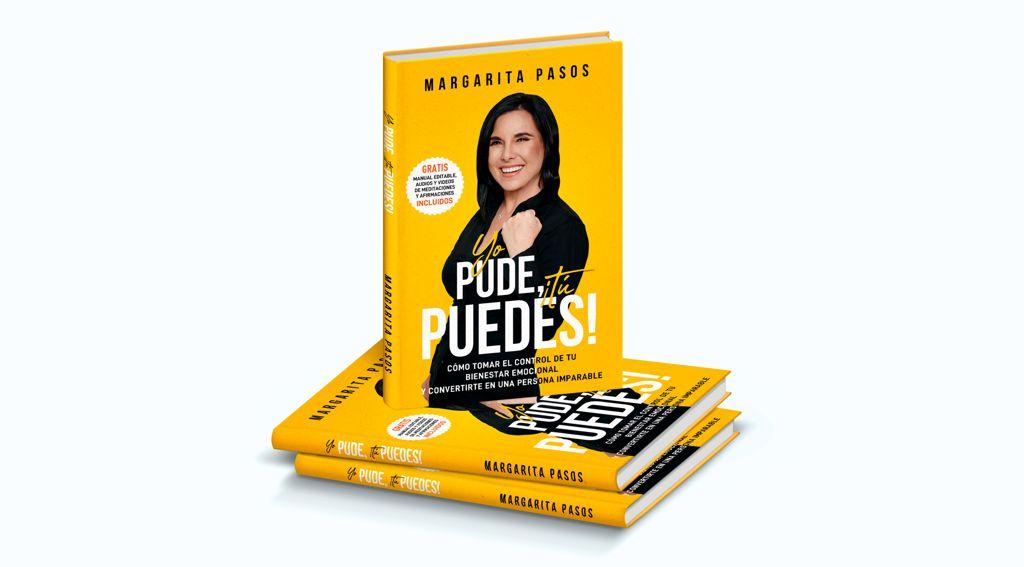 """image0-2 Margarita Pasos lanza su libro """"Yo Pude ¡Tú Puedes!"""""""