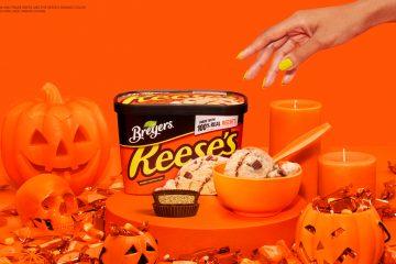 """Durante todo el mes de octubre, cuando las ganas de comer caramelos aparezcan, los padres pueden enviar un mensaje de texto con la palabra """"Confiesa"""" al 64827 para obtener una oferta de BOGO en golosinas congeladas de Klondike y Breyers REESE'S y obtener un dulce alivio."""