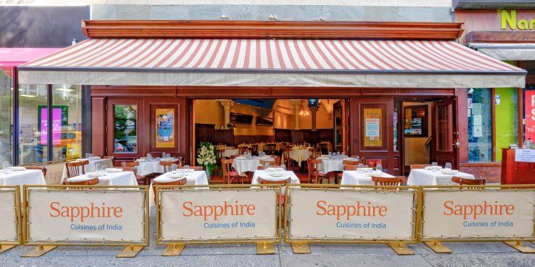 Disfruta de todos los destinos gastronómicos de la ciudad que nunca duerme. (Foto  Sapphire Cuisines of India)